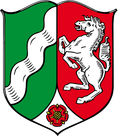 Landeswappen von Nordrhein-Westfalen