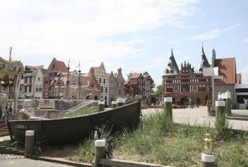 Die Hanse in Europa bei Tag im Hansa-Park.