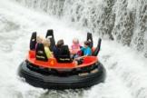 Mountain Rafting im Heide Park Resort in Aktion.