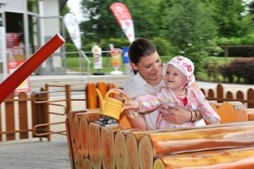 Kinderattraktion im Wild- und Freizeitpark Klotten/Cochem